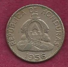 Buy Honduras 10 Centavos de Lempira 1956 Coin