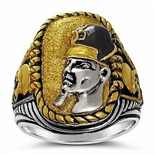 Buy RAMSES the Great Battle of Kadesh ring Sterling Silver Large