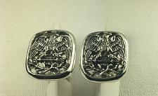 Buy American Eagle Mens sterling silver cufflinks