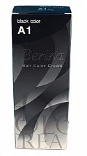 Buy A1 Black Berina Permanent Hair Dye Jet Black Color Cream Goth Punk Emo Afro