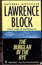 Buy The Burglar in the Rye by Lawrence Block Paperback Book - Very Good