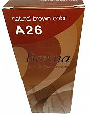 Buy A26 Berina Natural Brown Permanent Hair Dye Color For Brunette Balayage Emo