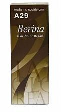 Buy A29 Berina Medium Chocolate Permanent Hair Dye Cocoa Color Brunette Emo Goth Afro