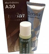 Buy A30 Berina Light Chocolate Permanent Hair Dye Milk Chocolate Color Brunette