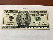 Buy USA United States $20.00 banknote 1999 #15