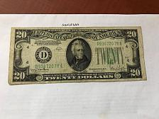 Buy USA United States $20.00 banknote 1934 #19