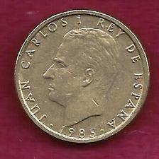Buy SPAIN 100 Pesetas 1985 Coin - Juan Carlos I - ALUMINUM-BRONZE