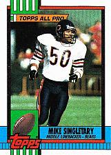 Buy Mike Singletary #368 - Bears 1990 Topps Football Trading Card