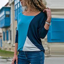 Buy Fashion Lace Crochet Women Blouses Casual Round Neck Long Sleeve Blouse Shirt