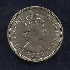 Buy HONG KONG 50 Cents 1968 Coin - QUEEN ELIZABETH II