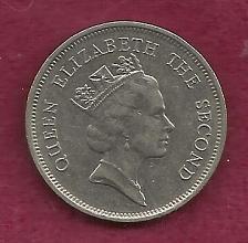 Buy Hong Kong 1 Dollar 1989 Coin - Copper Nickel