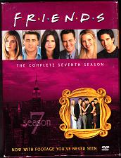 Buy Friends - Complete Seventh Season DVD, 2004, 4-Disc Set - Very Good
