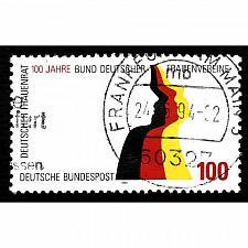Buy German Used Scott #1825 Catalog Value $.50