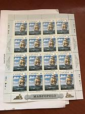 Buy Canada - 1999 Sailing Ship Marco Polo sheet m/s mnh