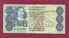 Buy SOUTH AFRICA 2 Rand 1978 Banknote BV4718074 - Portrait of Johan Anthoniszoo