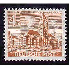 Buy German Berlin Hinged Scott #9N43 Catalog Value $.25