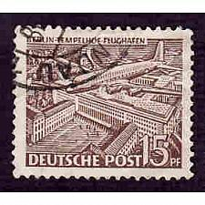 Buy German Berlin Used Scott #9N48 Catalog Value $.90