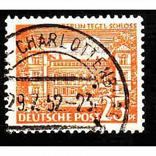 Buy German Berlin Used Scott #9N50 Catalog Value $.90