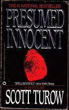 Buy Presumed Innocent by Scott Turow 1988 Paperback Book - Good