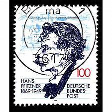 Buy German Used Scott #1832 Catalog Value $.50