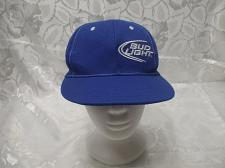 Buy Men's Bud Light Blue Baseball Cap One Size Fits All