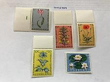Buy Netherlands Flowers mnh 1960