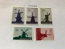Buy Netherlands Windmills mnh 1963