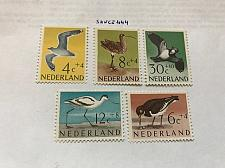 Buy Netherlands Birds mnh 1961