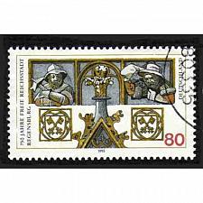 Buy German Used Scott #1888 Catalog Value $.40
