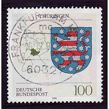 Buy German Used Scott #1714 Catalog Value $.70