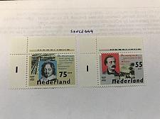 Buy Netherlands Authors 1987 mnh