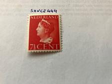 Buy Netherlands Queen Wilhelmina 7 1/2c mnh 1940