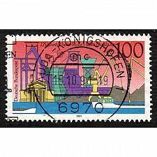 Buy German Used Scott #1684 Catalog Value $.45