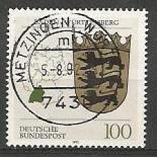 Buy German Used Scott #1699 Catalog Value $.70