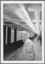 Buy ACTRESS MARILYN MONROE ON NYC SUBWAY PLATFORM 5X7 REPRINT #93