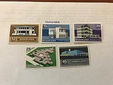 Buy Netherlands Summer modern architecture mnh 1969