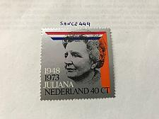 Buy Netherlands Queen Juliana silver jubilee mnh 1973