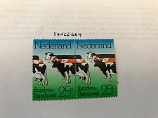Buy Netherlands Cattle pair mnh 1974