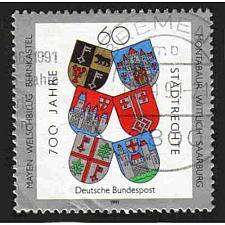 Buy German Used Scott #1644 Catalog Value $.45