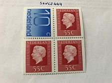 Buy Netherlands Queen Juliana 55c block mnh 1976