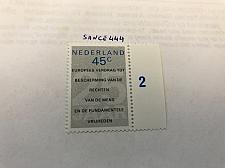 Buy Netherlands Human rights mnh 1978