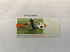 Buy Netherlands Football mnh 1979