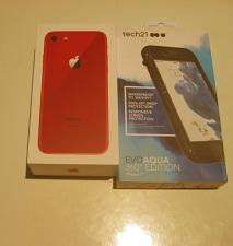 Buy Great Looking Candy Apple Red Unlocked 64gb Iphone 8 A1863 Airpods
