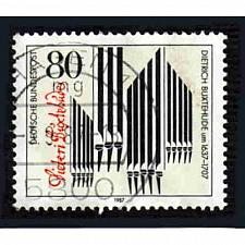Buy German Used Scott #1507 Catalog Value $.45