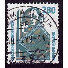 Buy German Used Scott #1535 Catalog Value $1.90