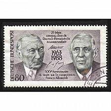 Buy German Used Scott #1546 Catalog Value $.60