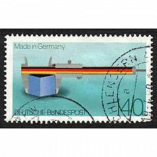 Buy German Used Scott #1561 Catalog Value $.90