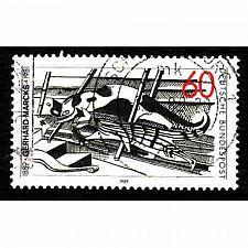 Buy German Used Scott #1571 Catalog Value $.45