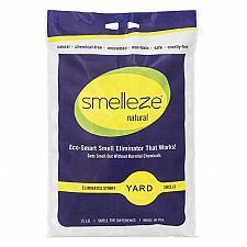 Buy SMELLEZE Natural Yard Smell Removal Deodorizer Granules: 25 lb. Bag Sprinkle in Yard