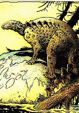 Buy Antarctic Nodosaur #38 - Stout 1993 Fantasy Art Trading Card